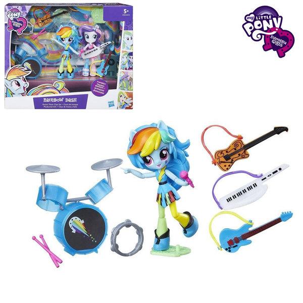 My Little Pony Equestria Girls Minis - Малкото пони Рок сцената на Rainbow Dash B4910