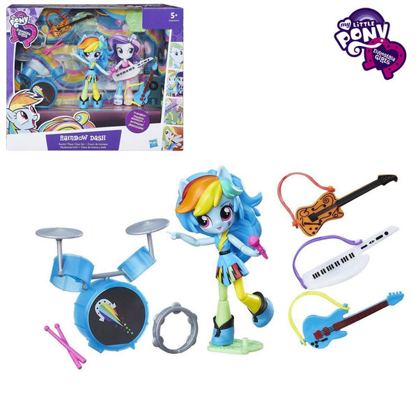 My Little Pony Equestria Girls Minis - Малкото пони Рок сцената на Rainbow Dash B4910