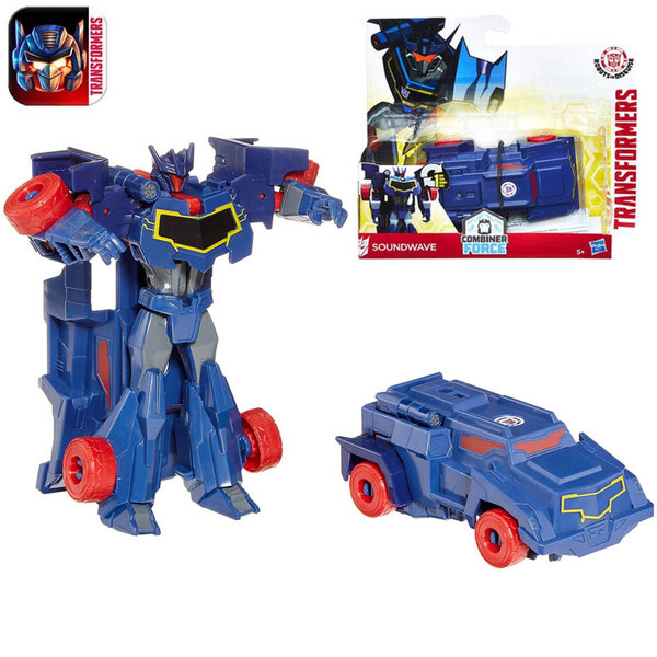 Transformers Robots in Disguise - 1-Step Трансформърс Soundwave B0068