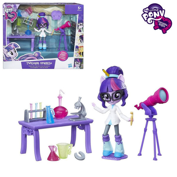 My Little Pony Equestria Girls Minis - Малкото пони Лабораторията на Twilight Sparkle B4910