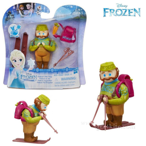 Disney Frozen - Кукла Oakens на ски B5185