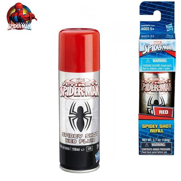 Hasbro - Spider Man Флакон с паяжина червен b9761