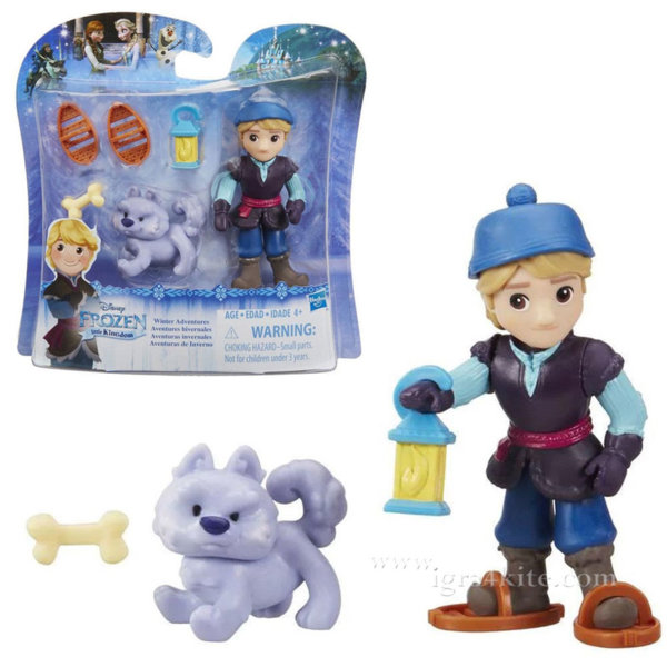 Disney Frozen - Кукла Кристоф и кученце от Замръзналото кралство B5185