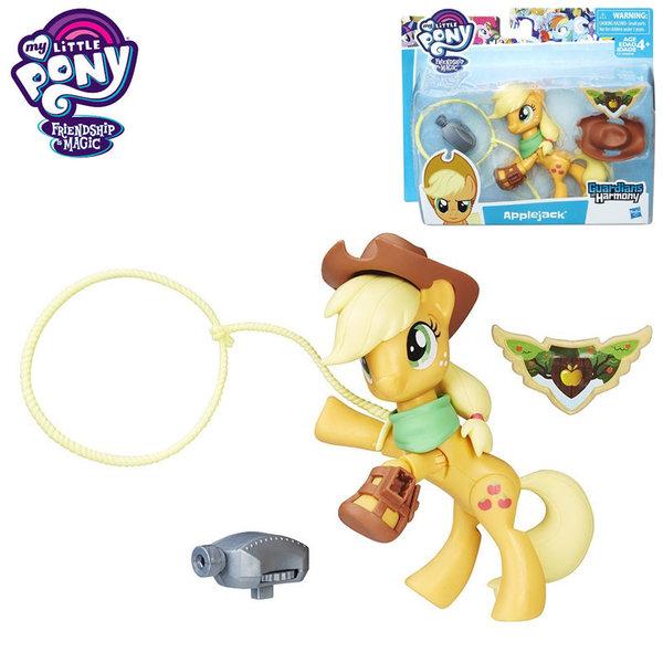 My Little Pony Guardians of Harmony - Моето малко пони Apple Jack с аксесоари B6008