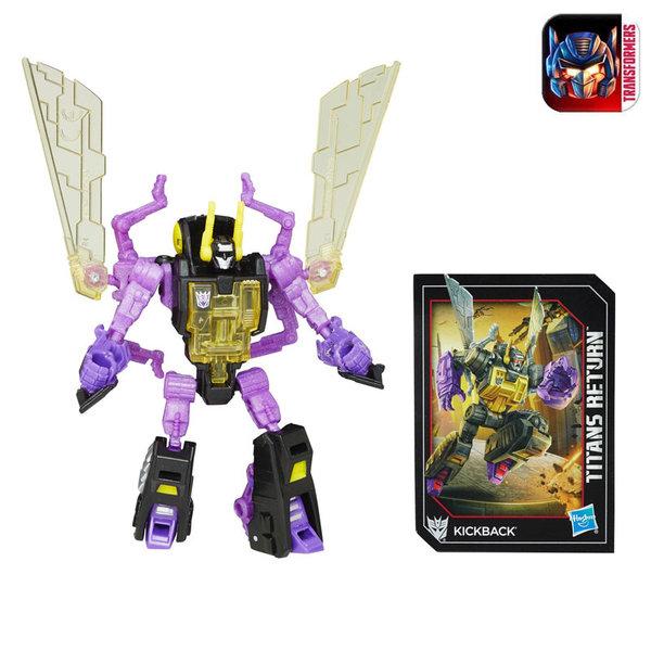 Transformers - Трансформърс Титаните се завръщат Поколение Легенди Kickback b7771