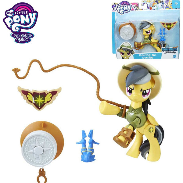My Little Pony Guardians of Harmony - Моето малко пони Daring do Dazzle с аксесоари B6008