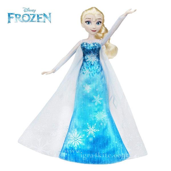 Disney Frozen - Kукла Елза с музикална и светеща рокля C0455