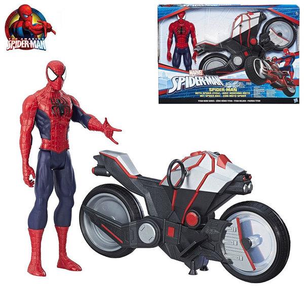 Hasbro - Spider Man с мотор B9767