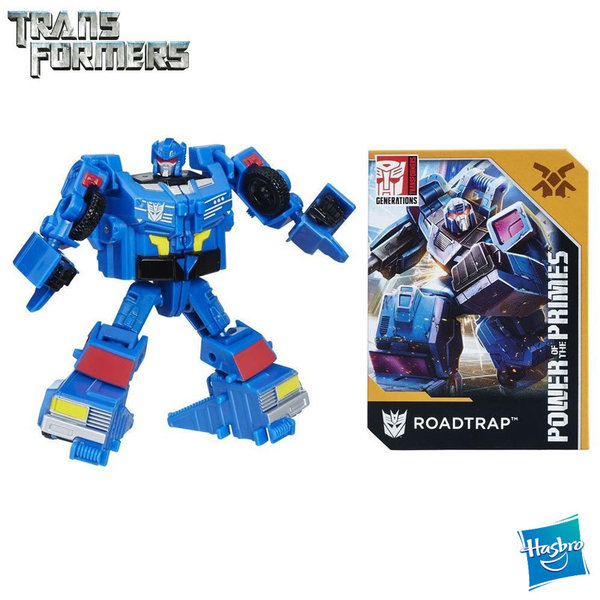 Transformers - Power of the Primes Трансформърс Roadtrap e0602