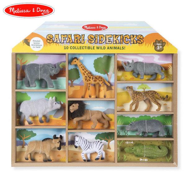 Melissa&Doug - Комплект 10 животни сафари 10593