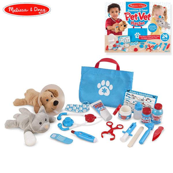 Melissa&Doug - Детски комплект ветеринарен доктор 18520