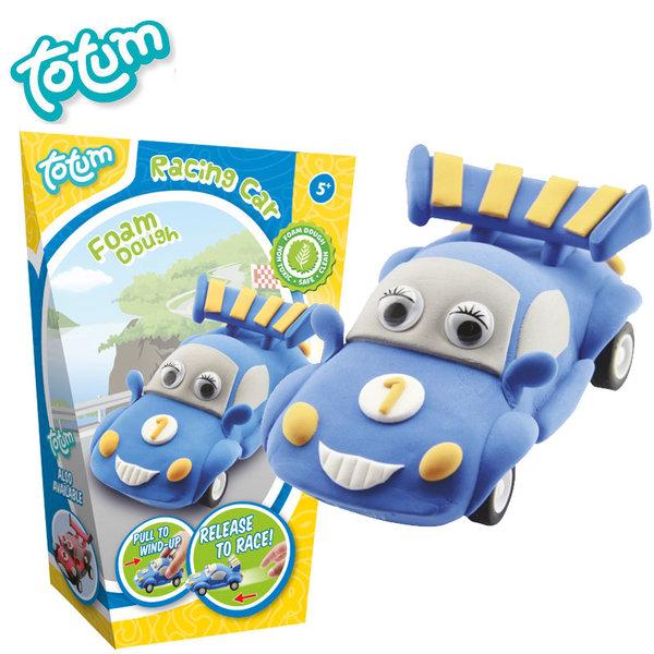 Totum - Направи сам кола от пластилин синя 25387