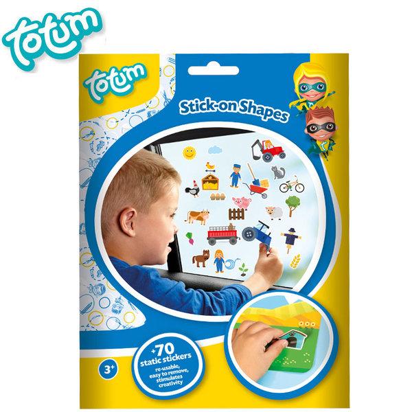 Totum - Декорирай сам със стикери за стъкло 25417