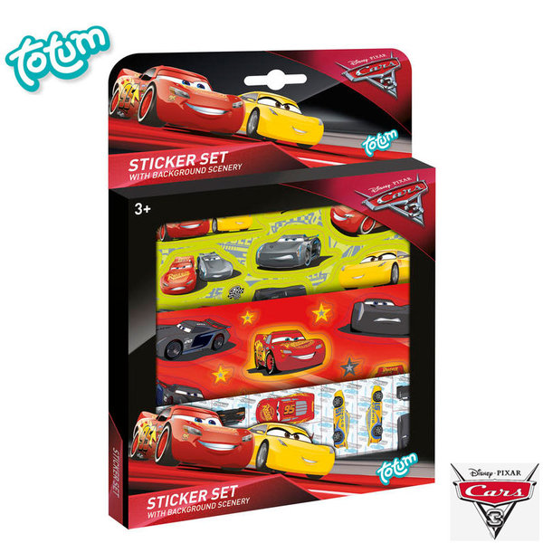 Totum Disney Cars - Детски стикери Дисни колите 140073
