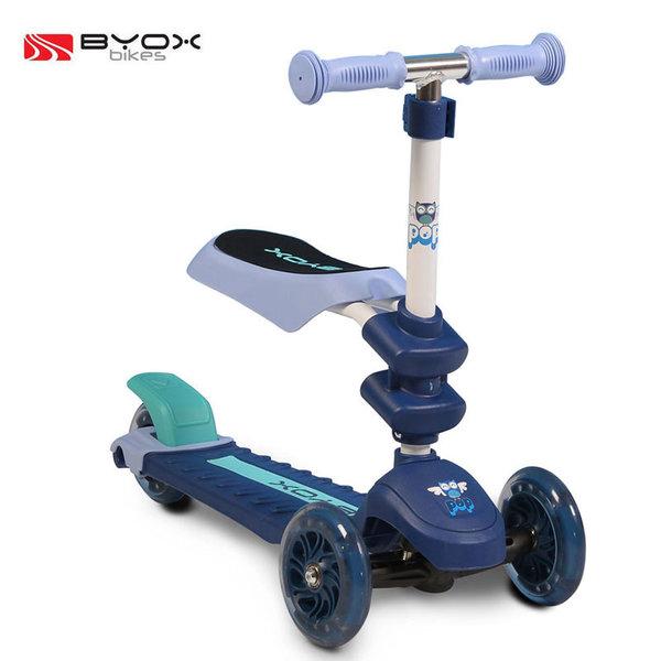 1Byox Bikes - Детска тротинетка 2в1 Pop синя 103471