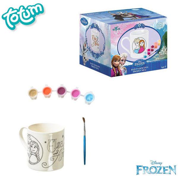 Totum Disney Frozen - Направи сам стилна чаша Замръзналото кралство 680050