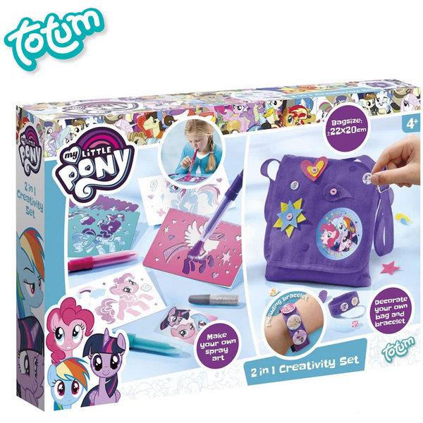 Totum My Little Pony - Креативен комплект Моето малко пони 2в1 131026
