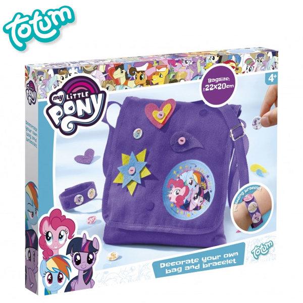 Totum My Little Pony - Декорирай сам чанта Моето малко пони 132009