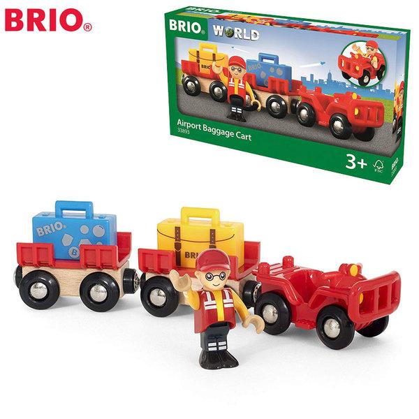 1Brio - Товарна кола с вагончета и багаж 33893