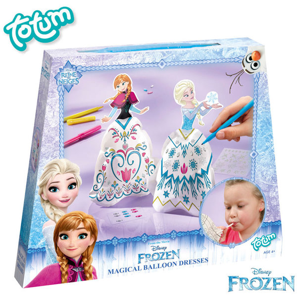 Totum Disney Frozen - Направи сам дизайнерски облекла Замръзналото кралство 680326