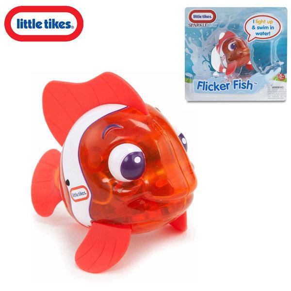 Little Tikes - Плуваща рибка със светлинки Flicker Fish Orange 638220M