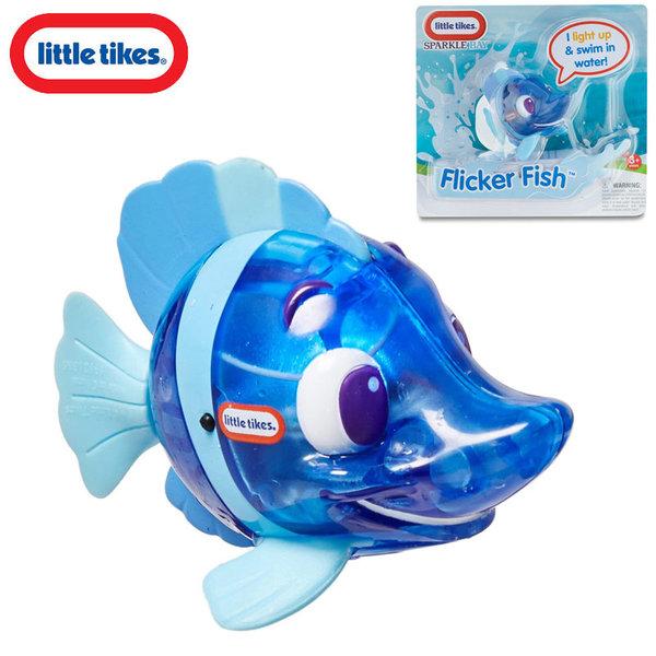 Little Tikes - Плуваща рибка със светлинки Flicker Fish Blue 638213M
