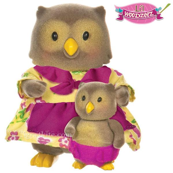 *Li'L Woodzeez - Комплект Бухали майка и бебе BT6136M