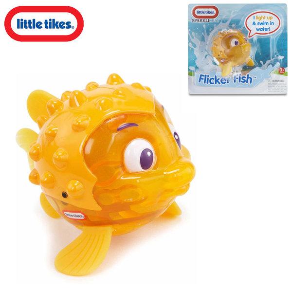 Little Tikes - Плуваща рибка със светлинки Flicker Fish Yellow 638237M