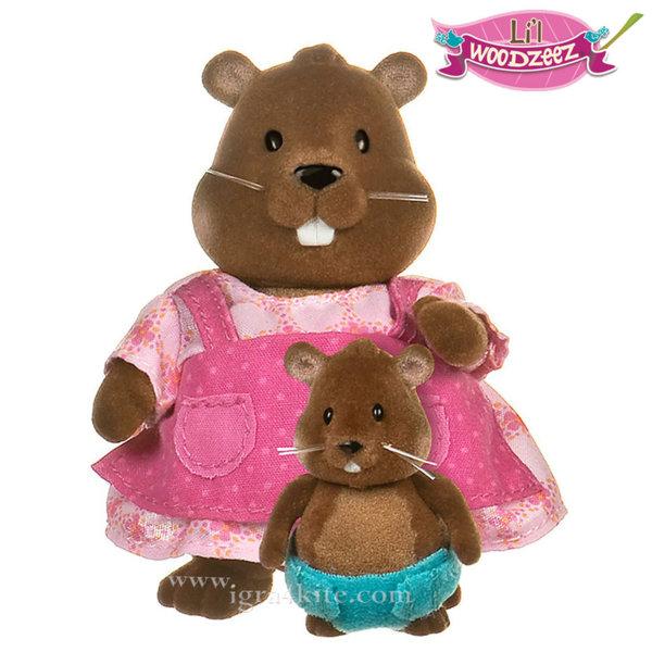 *Li'L Woodzeez - Комплект Бобърчета  майка и бебе 6130