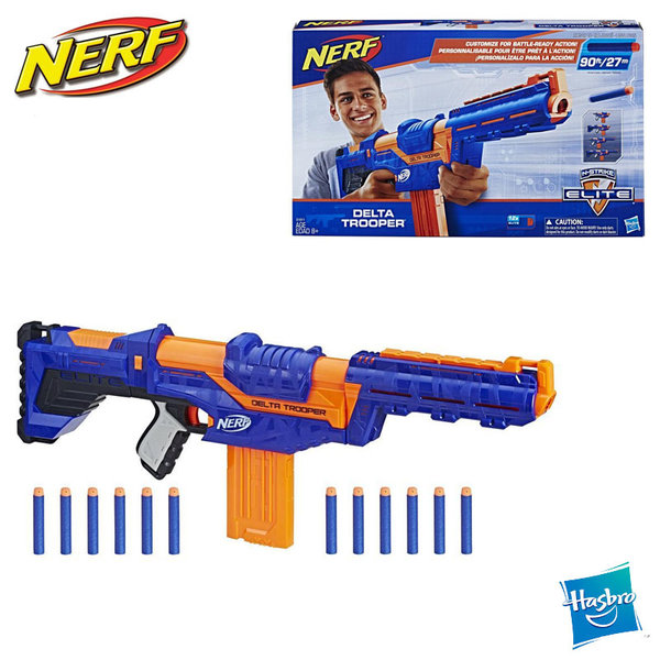 Hasbro Nerf - Нърф Елит Бластер Delta Trooper 4в1 E1911