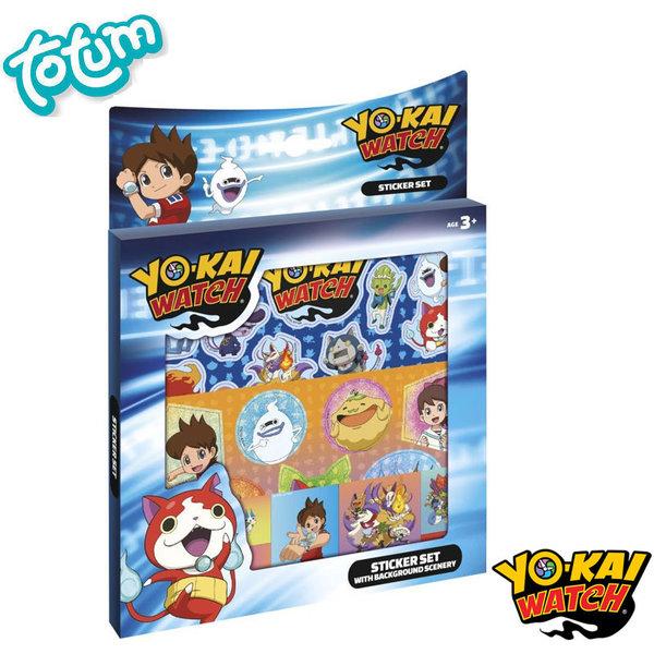 Totum Yo-Kai Watch - Детски стикери Йо Кай Уоч 860001