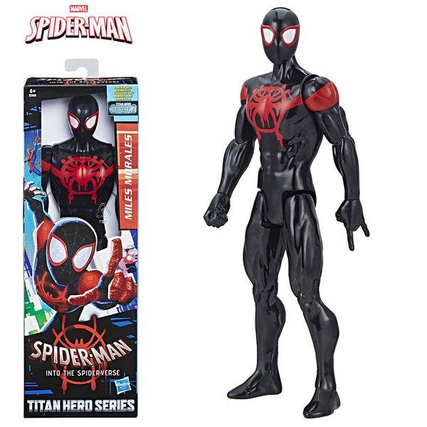Hasbro - SpiderMan Екшън фигура 30см Miles Morales с Power FX порт E2903