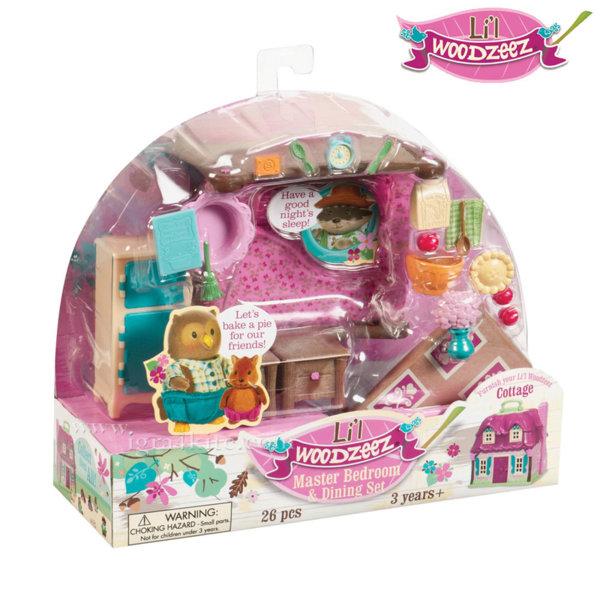 *Lil Woodzeez - Комплект за игра Спалня и трапезария BT6127Z