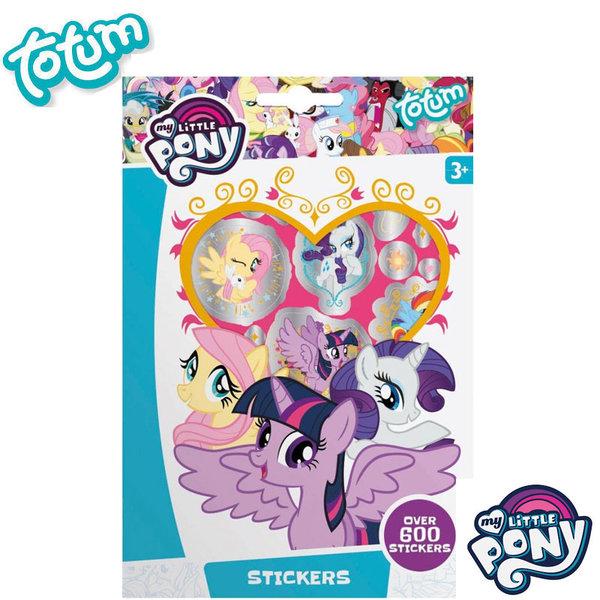 Totum My Little Pony - Детска книжка със стикери Моето малко пони 130180