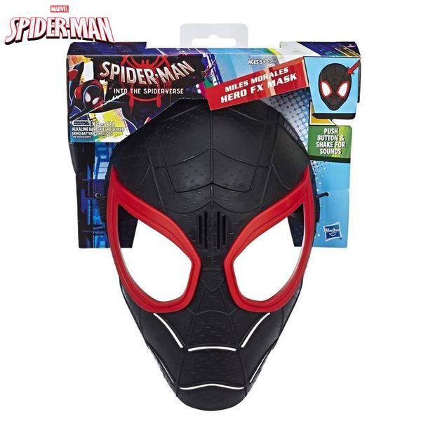 Hasbro - SpiderMan Детска маска Miles Morales Hero FX със звукови ефекти E2911