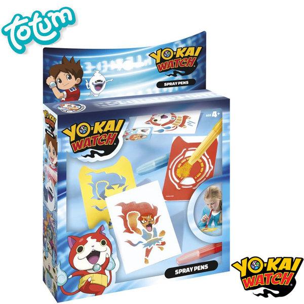 Totum Yo-Kai Watch - Нарисувай сам Йо Кай Уоч със спрей писалки 860063