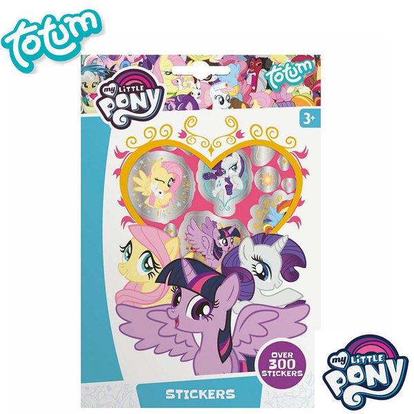 Totum My Little Pony - Детска книжка със стикери Моето малко пони 130203