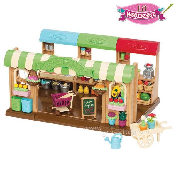 *Li'L Woodzeez - Комплект за игра Фермерски магазин 6126