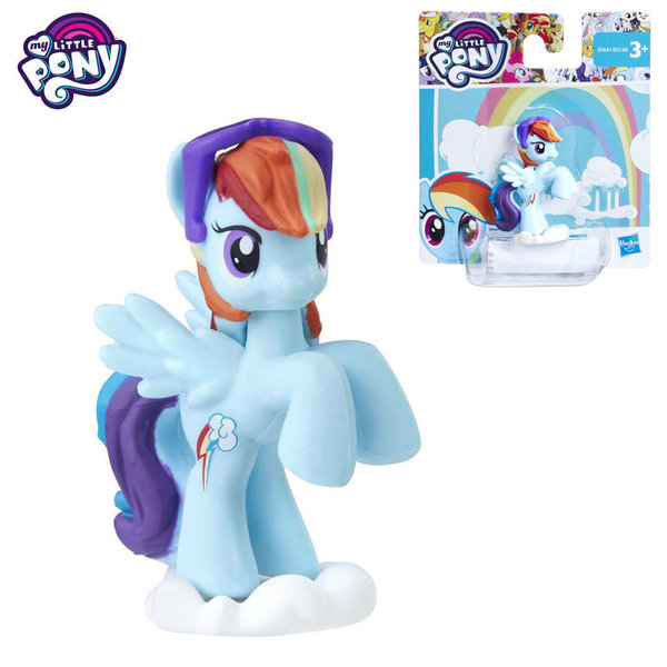 My Little Pony - Моето малко пони мини фигурка Rainbow Dash E0168