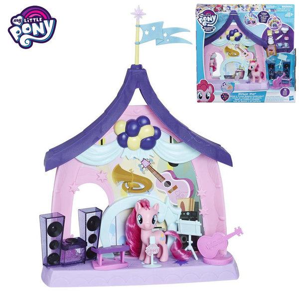 My Little Pony - Магическата класна стая 2в1 на Пинки Пай с музикални ефекти E1929