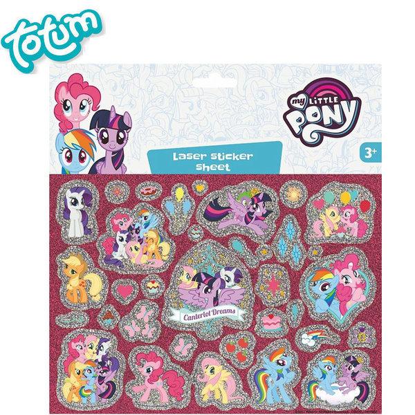 Totum My Little Pony - Детски стикери Моето малко пони 130210