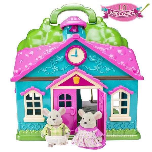 *Lil Woodzeez - Kомплект за игра Училище за мишки 6101