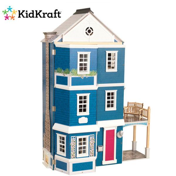 1KidKraft - Дървена куклена къща във Викториански стил 65947