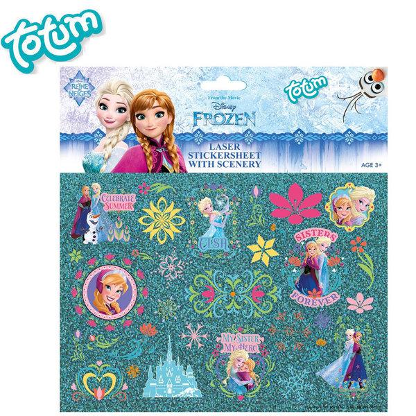 Totum Disney Frozen - Детски стикери Замръзналото крсластво 680395