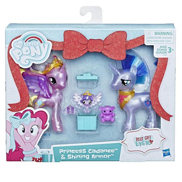 My Little Pony - Комплект понита Princess Cadance и Shining Armor с аксесоари E4034