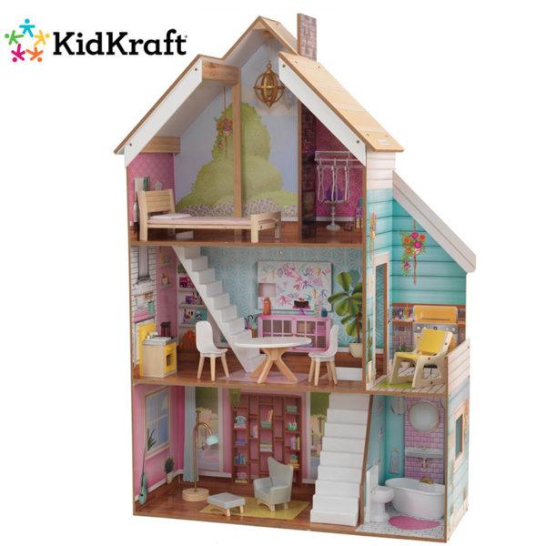 1KidKraft - Дървена куклена къща Juliette 65969