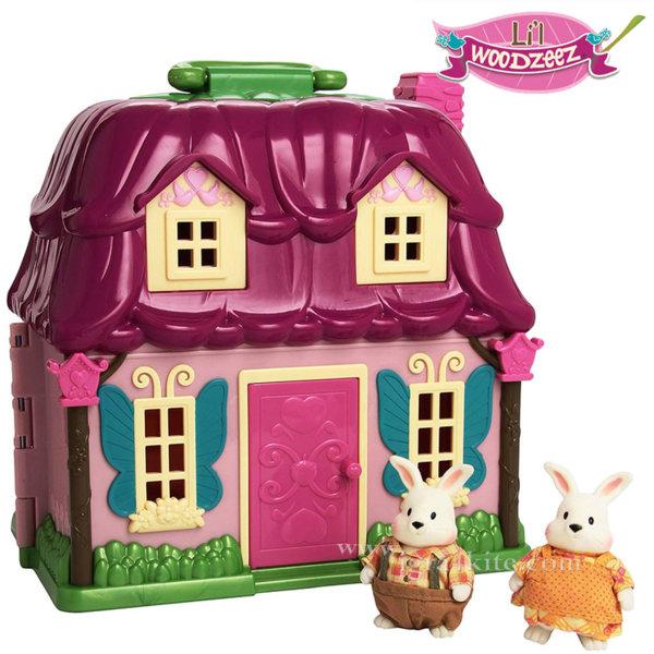 *Li'L Woodzeez - Комплект за игра Къщата на семейство зайчета 6103