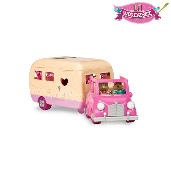 *Lil Woodzeez - Kомплект за игра Кола с каравана 6116
