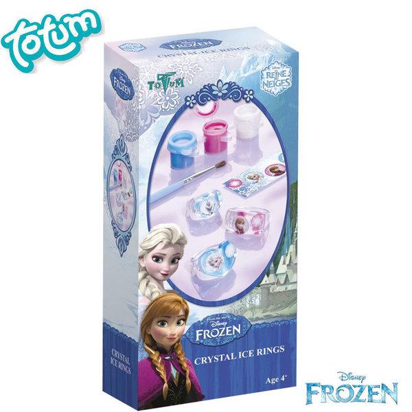 Totum Disney Frozen - Оцвети сам пръстени Замръзналото кралство 685017