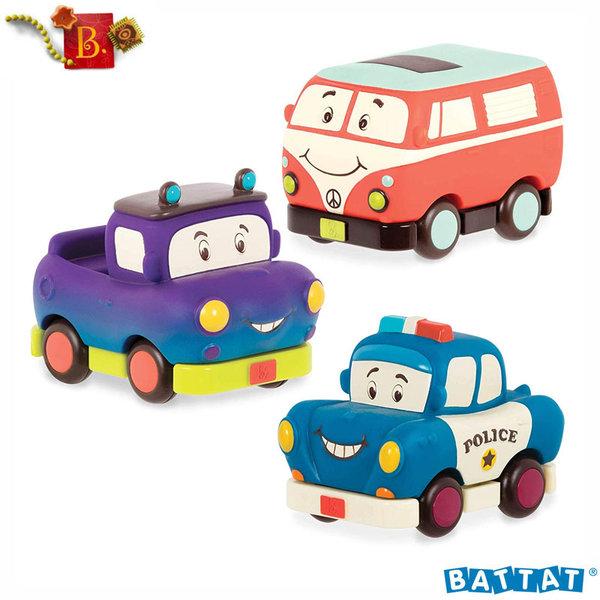 B.Toys - Мини колички Pull Back BX1695Z
